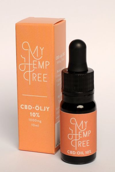 CBD ihoöljy 10%/10ml My Hemp Tree