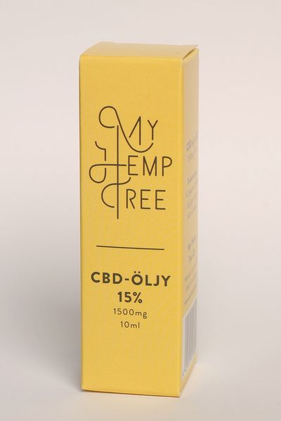 CBD ihoöljy 15%/10ml My Hemp Tree