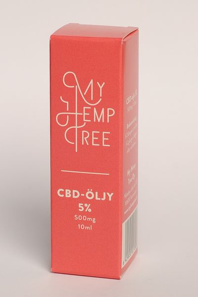 CBD ihoöljy 5%/10ml My Hemp Tree